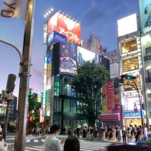 JR新宿駅東口といえば・・・
