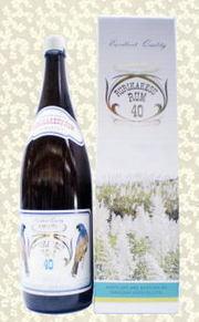 梅酒つくりに~ルリカケスラム酒(高岡醸造)40度1.8L
