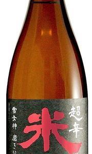 米鶴 超辛純米大吟醸 雪女神(米鶴酒造)1.8L