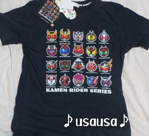 昭和ライダーTシャツ