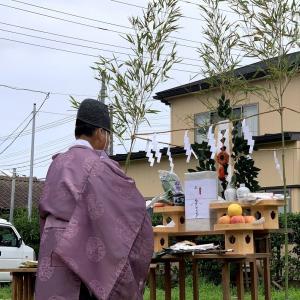 地鎮祭。今度は銚子市