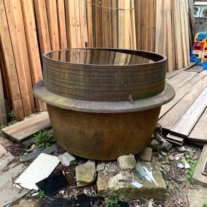 川越「時の鐘」の鋳物師の製作が我が家に。