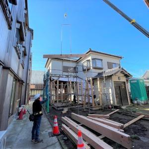 重要的建造物群保存地区の工事