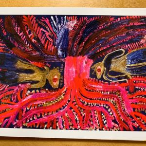ミロコマチコ展「おひさまを海に浸す」