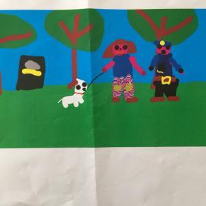 6歳1ヶ月 画伯作品