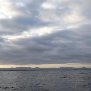 11月21日の琵琶湖 ガッツリ冷え込みからのポカポカ日和。