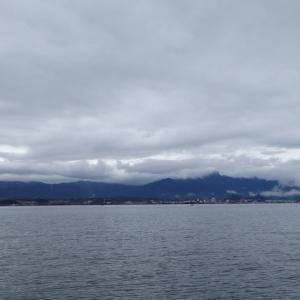 3月28日の琵琶湖 朝のワンチャンス
