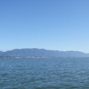 6月7日の琵琶湖 一人舞台でした。