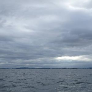7月2日の琵琶湖 ノーシンカーでなんとか。
