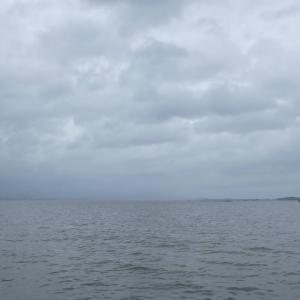 7月7日の琵琶湖 今日もバクフー。