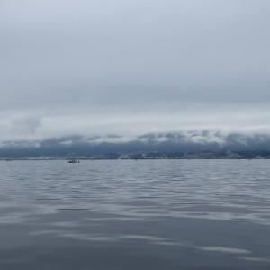 7月18日の琵琶湖 梅雨の晴れ間で暑い一日でした。