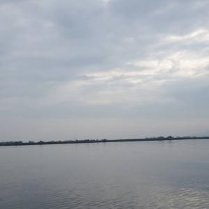 7月20日の琵琶湖 暑すぎてgiveup