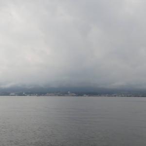 7月23日の琵琶湖 アレはデカかった、デス(涙)