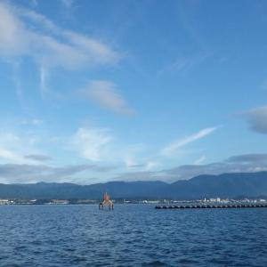 8月12日の琵琶湖 もう状況が変わったみたいです。