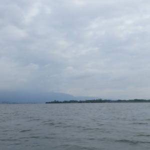 8月13日の琵琶湖 ラッキーデー??