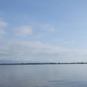 8月14日の琵琶湖 いいサイズで釣れてくれました。