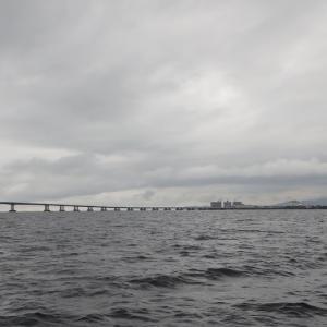 9月13日の琵琶湖 釣れない時間をいかに過ごすかが、大事です?