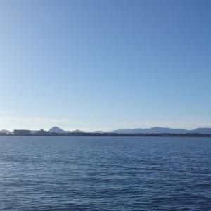 9月14日の琵琶湖 秋にはありがちなの、いきなりです。