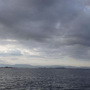 9月22日の琵琶湖 チャレンジするのが大事です。