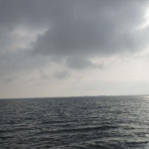 4月30日の琵琶湖 バクフー、風裏展開です。