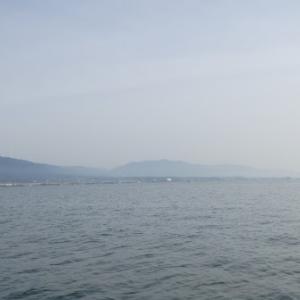 5月4日の琵琶湖 久しぶりに良く釣れてくれました。