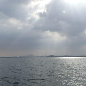 5月9日の琵琶湖 つかんだと思ったところからのバクフー↘↘↘↘
