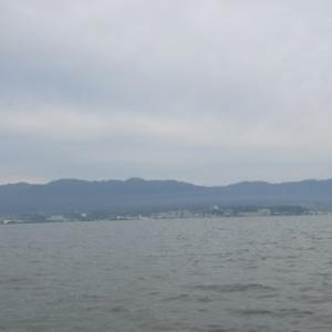 5月24日の琵琶湖 いつまでつづく、ノーシンカーワームのパターン。