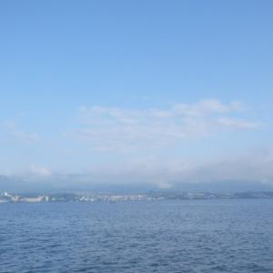 6月14日の琵琶湖 風が吹いたら…始まりですか?