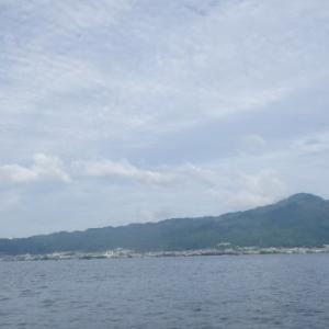 6月20日の琵琶湖 ちょっと冷え気味だったようです。