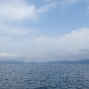 6月22日の琵琶湖 アジャストが難しいですね。