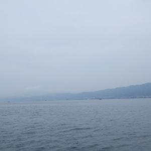 6月25日の琵琶湖 いろいろとありました。