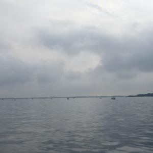 6月26日の琵琶湖 日替わりメニュー、今日はノーシンカーワーム。