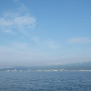 6月28日の琵琶湖 うーん、ぎょくさいでした(なみだ)