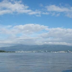 7月17日の琵琶湖 梅雨明けしました。