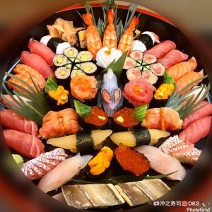 テイクアウトお寿司盛り込み