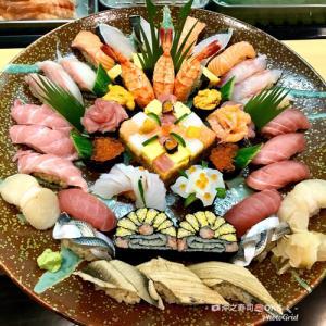 お祝いおまかせ寿司盛り込みアート