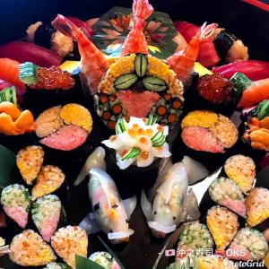 誕生日お祝い飾り細工おまかせ寿司