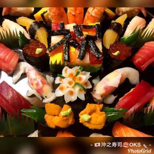 就職のお祝いに!飾り寿司盛り込み