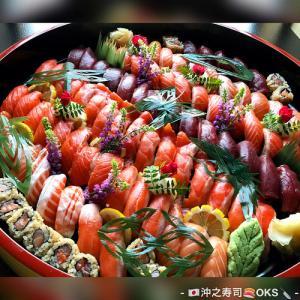 お好み寿司サーモンにぎり盛り込みテイクアウト
