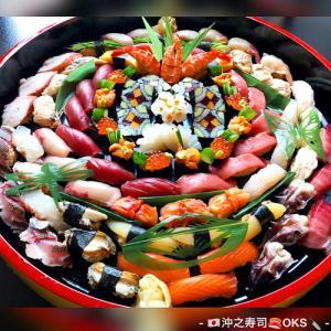 豪華テイクアウト盛り込み寿司