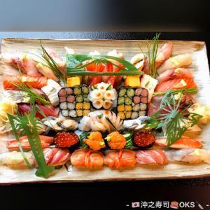 予約注文にて店内食事も飾り細工寿司