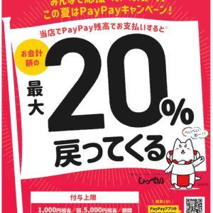 磐田市のpay pay キャンペーンに参加