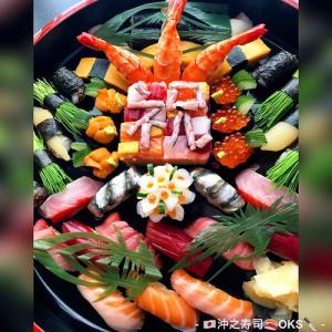 お祝い寿司の持ち帰り