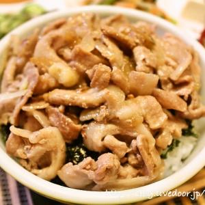 [ヤマサ ぱぱっとちゃんと これ!うま!!つゆ] 簡単豚丼 レシピ