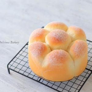 レシピブログさんの連載は『15cm デコ型でミルクパン』