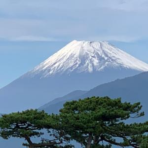 千本松原と不二山