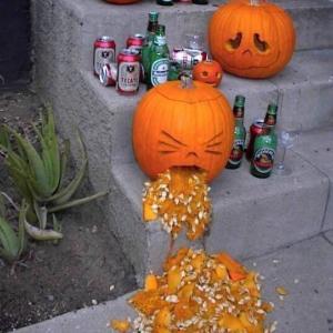 飲み過ぎやろ〜 Happy Halloween♪