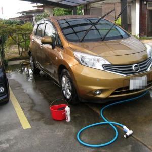 梅雨明けて、洗車
