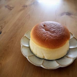 オーヤマくんでスフレチーズケーキ
