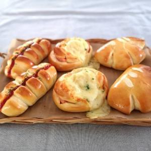 久々の手ごねパン